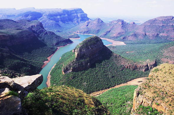 A view of the Blyde River Canyon in Mpumalanga.