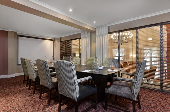 Interior of boardroom at Protea Hotel Nelspruit.