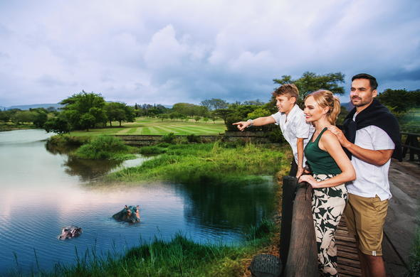 Outdoor family fun at Sabi River Sun.