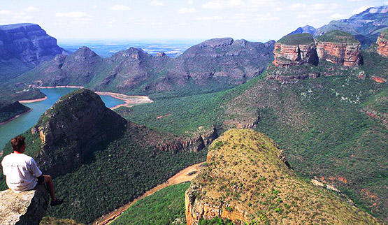 Panorama Route Blyde River Canyon.